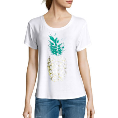 jcpenney.com | I 'Heart' Ronson® Short-Sleeve Graphic Tee