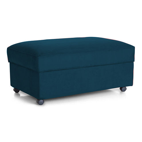 Fabric Possibilities Quick Ship Storage Ottoman
