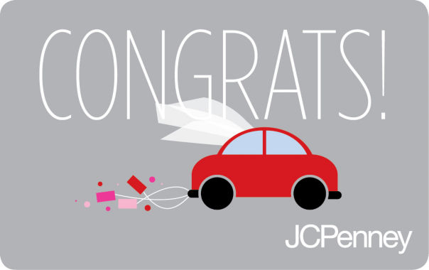 jcpenney.com | $250 Congrats Beetle Gift Card