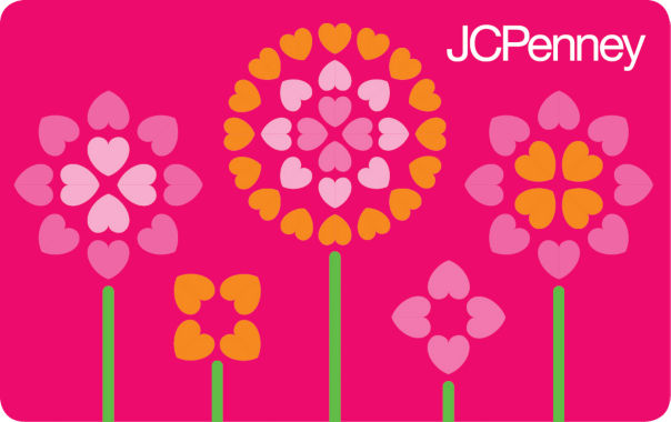 jcpenney.com | $10 Multi Flowers Gift Card