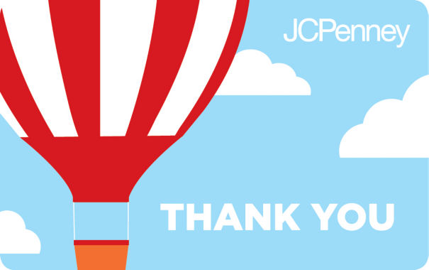 jcpenney.com | $25 Hot Air Balloon Gift Card