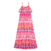 Arizona Print Sleeveless Maxi Dress - Girls 6-16 and Plus