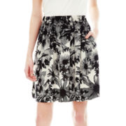 Joe Fresh™ Print A-Line Skirt