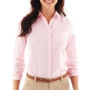 jcp™ Long-Sleeve Oxford Shirt