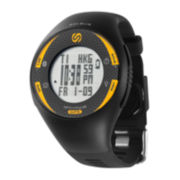Soleus GPS Pulse BLE Black and Yellow Digital Watch