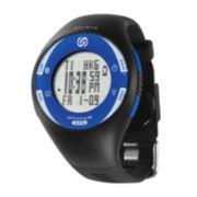 Soleus GPS Pulse BLE Black and Blue Digital Watch
