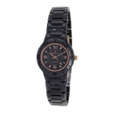jcpenney.com | Christian Van Sant Womens All-Black Ceramic Bracelet Watch