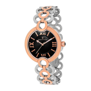 jcpenney.com | Christian Van Sant Twirl Womens Silver-Tone and Rose-Tone Bracelet Watch