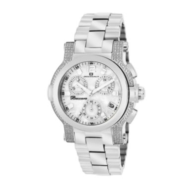 jcpenney.com | Oceanaut Baccara Womens Mother-of-Pearl and Silver-Tone Bracelet Watch