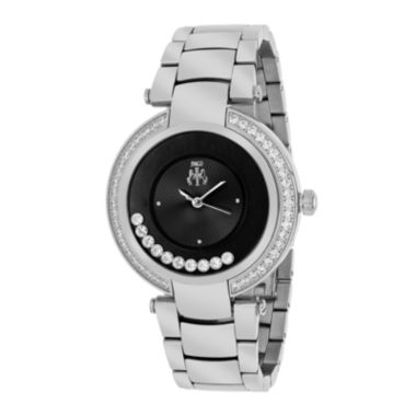 jcpenney.com | Jivago Womens Celebrate Black Bracelet Watch