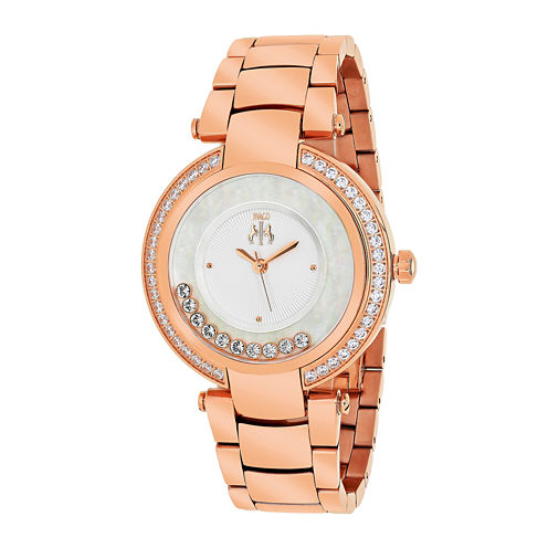 Jivago Womens Celebrate Silver Bracelet Watch