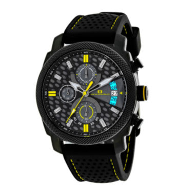 jcpenney.com | Oceanaut Kryptonite Mens Yellow & Black Rubber Strap Watch