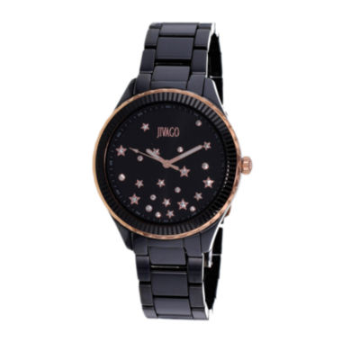 jcpenney.com | Jivago Womens Sky Black Bracelet Watch