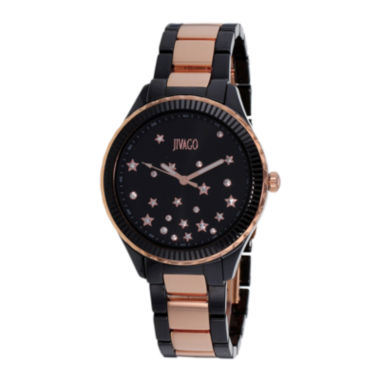 jcpenney.com | Jivago Sky Womens Black Ceramic Bracelet Watch