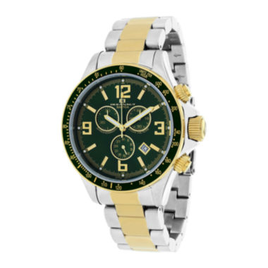 jcpenney.com | Oceanaut Baltica Mens Green Dial and Two-Tone Stainless Steel Watch
