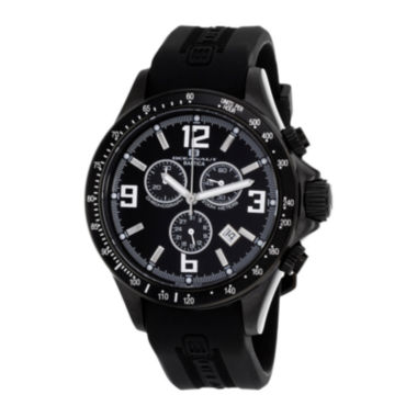 jcpenney.com | Oceanaut Baltica Mens Black Rubber Strap Watch