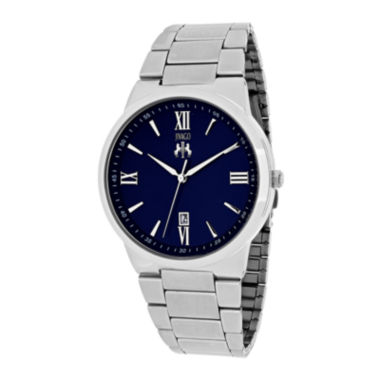 jcpenney.com | Jivago Clarity Mens Blue Dial and Silver-Tone Bracelet Watch