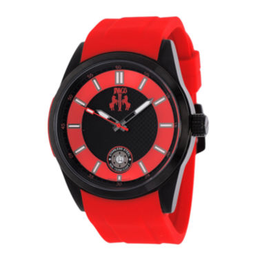 jcpenney.com | Jivago Rush Mens Black Dial Red Strap Watch