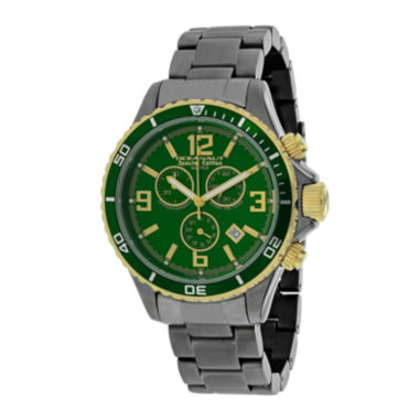 jcpenney.com | Oceanaut Mens Baltica Green Dial and Gunmetal Stainless Steel Watch OC8337