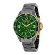 Oceanaut Mens Baltica Green Dial and Gunmetal Stainless Steel Watch OC8337