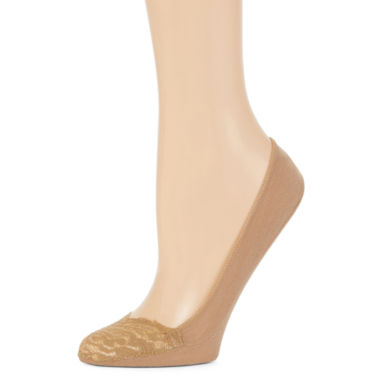 jcpenney.com | Mixit™ 2-Pack Super Low-Lace Sock Liners