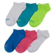 Xersion™ 6-pk. No Show Socks