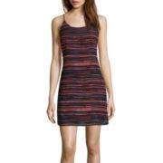Decree® Sleeveless Strap Back Dress- Juniors