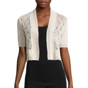 Perceptions Crochet Square Shrug