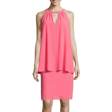 jcpenney.com | Jessica Howard Sleeveless Trapeze Dress