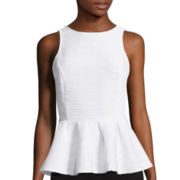 Worthington® Sleeveless Peplum Top - Tall