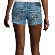 Soundgirl Embellished Cross Shorts