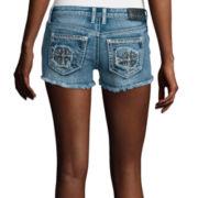 Soundgirl Embellished Cross Shorts