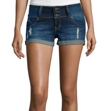 jcpenney.com | YMI® Fit Solution Denim Shorts