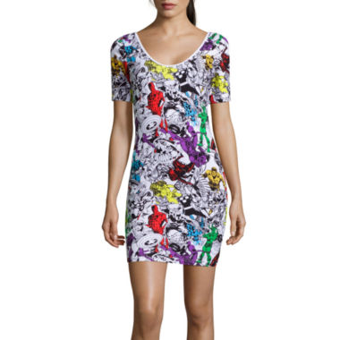 jcpenney.com | Freeze Short Sleeve Bodycon Dress
