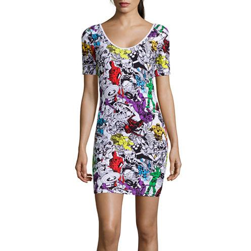Freeze Short Sleeve Bodycon Dress