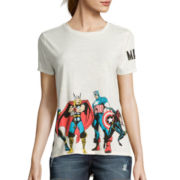 Marvel® Freeze Boarder Print Tee