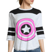 Marvel® Elbow-Sleeve Colorblock Hockey Tee