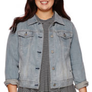 Arizona Denim Jacket - Juniors Plus