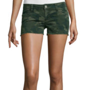 Arizona Camo Print Shorts - Juniors