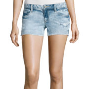 Arizona Raw Hem Denim Shorts