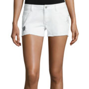 Arizona Blanco Wash Americana Shorts - Juniors