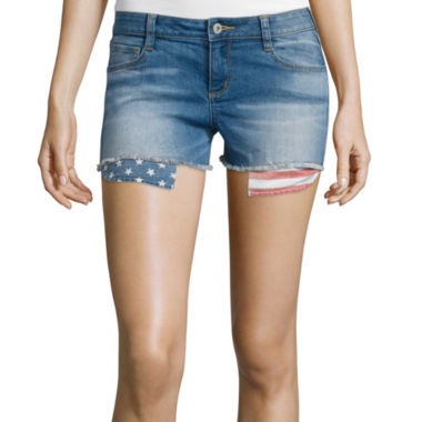 jcpenney.com | Arizona Print Pocket Denim Shorts
