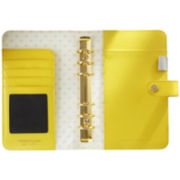 Webster's Pages Personal Leather Binder - Yellow