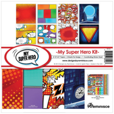 jcpenney.com | Reminisce 11-pc. Superhero Collection Kit