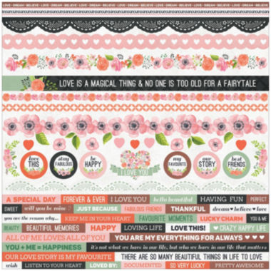 jcpenney.com | Kaisercraft Cardstock Stickers True Love