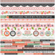 Kaisercraft Cardstock Stickers True Love