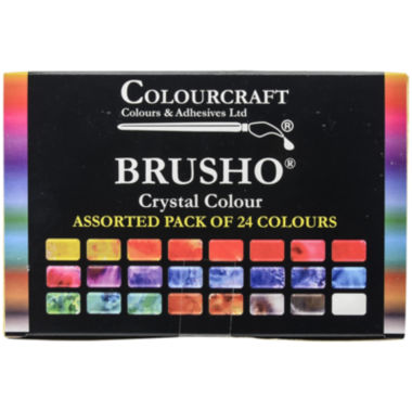 jcpenney.com | Colorfin Brusho Crystal Colors Set – 24 Pack
