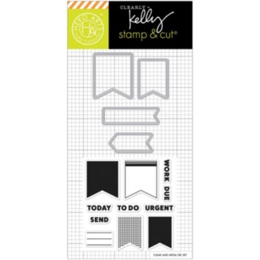 jcpenney.com | Planner Banners Stamp & Die Set