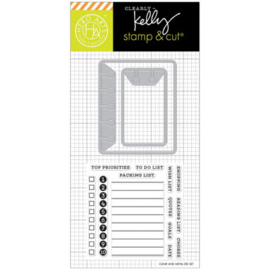 jcpenney.com | To Do List Stamp & Die Set