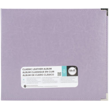 jcpenney.com | 3-Ring Leather Album - Lilac